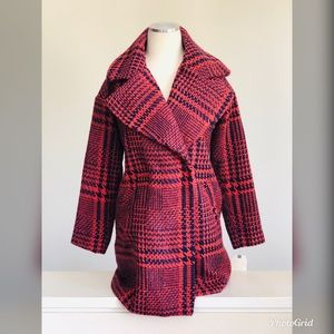 Jolt Juniors Houndstooth Print Coat